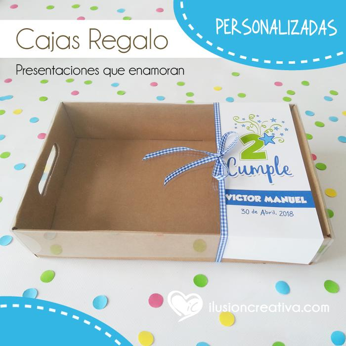 Caja PERSONALIZADA para Cumpleaños - Star - Niño