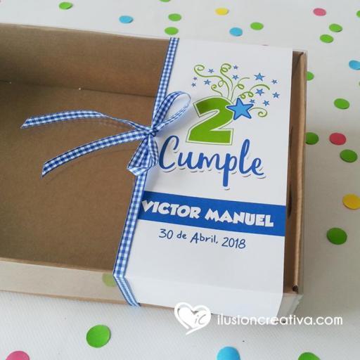 Caja PERSONALIZADA para Cumpleaños - Star - Niño [1]