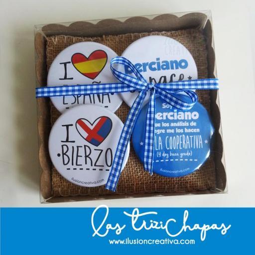 Pack de Chapas Bercianas