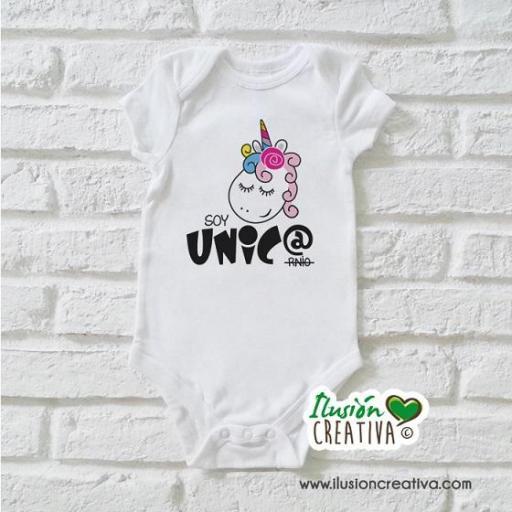 Body Niña Unicornio