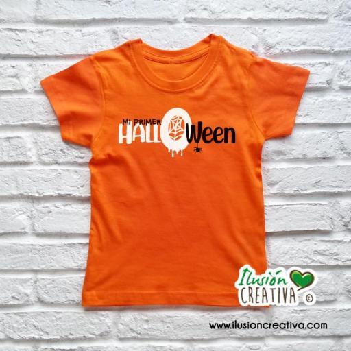 Camiseta Halloween, personalizada