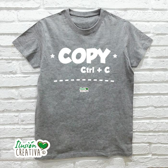 Camiseta Hombre - Copia-pega