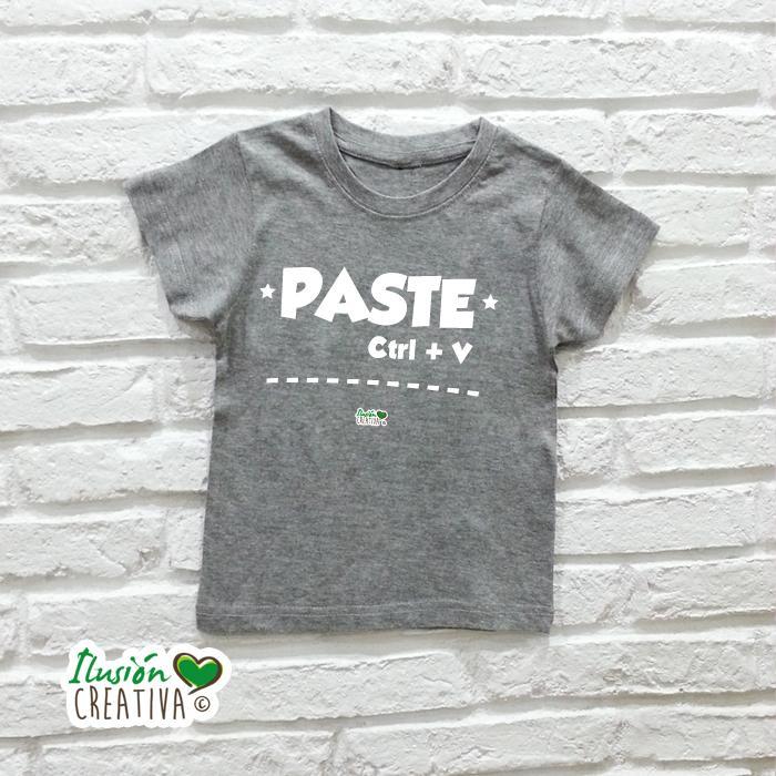 Camiseta Niño - Copia-pega