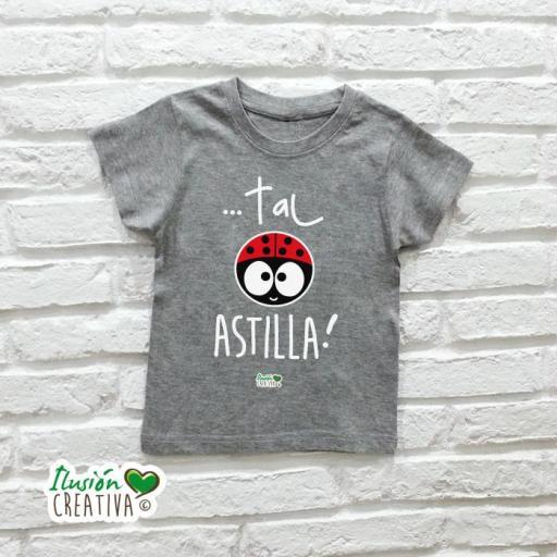DUO de camisetas DE TAL PALO TAL ASTILLA CHIQUINETE [2]