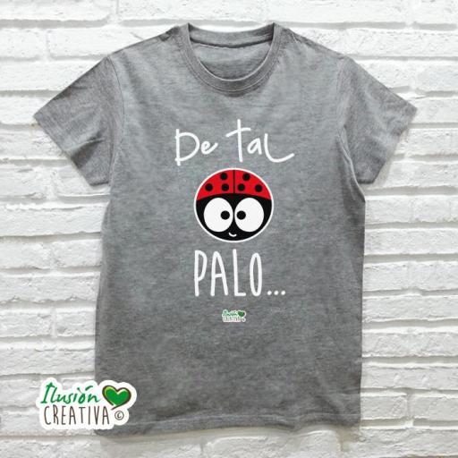 Camiseta Hombre - Duo DE TAL PALO tal astilla + chiquinete