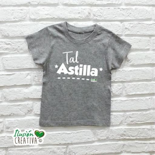 Camiseta Niño - Duo de tal palo TAL ASTILLA