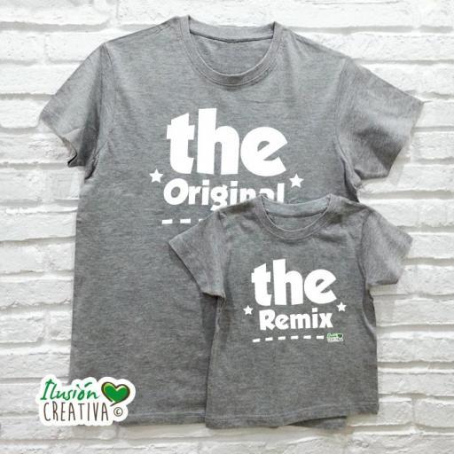 DUO de camisetas el ORIGINAL y el REMIX
