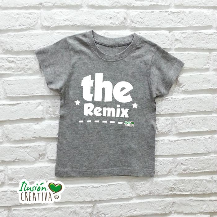 Camiseta Niño - The Remix
