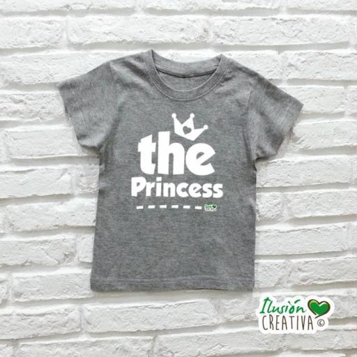DUO de camisetas LA REINA + la Princesa (o el Príncipe!) [1]