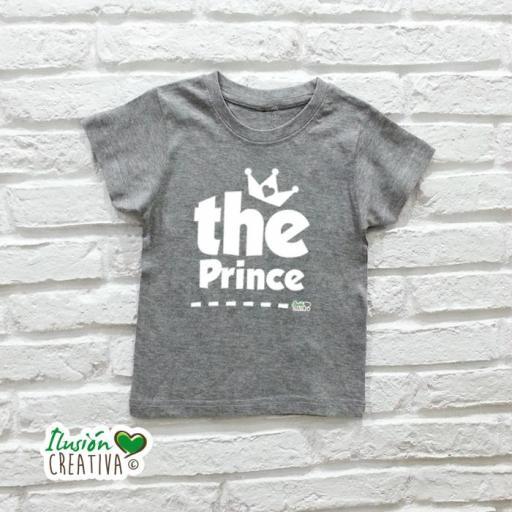 DUO de camisetas LA REINA + la Princesa (o el Príncipe!) [3]