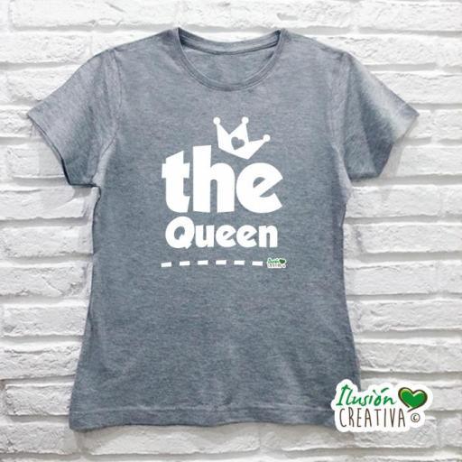 DUO de camisetas LA REINA + la Princesa (o el Príncipe!) [2]