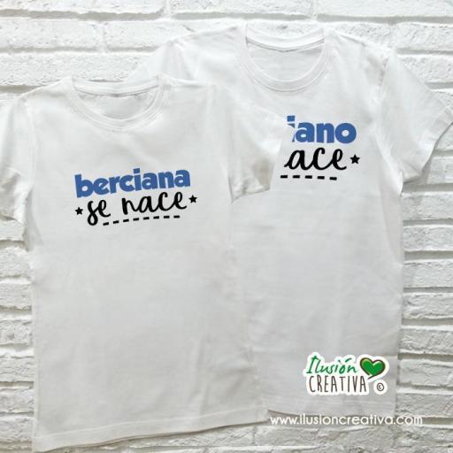 DUO de camisetas para BERCIANOS