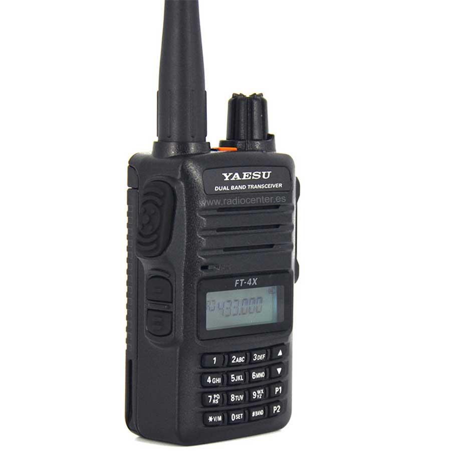 YAESU FT-4XE WALKI TALKI DOBLE BANDA VHF/UHF CON RADIO DE FM COMERCIAL