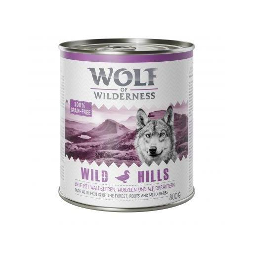 Wolf os Wilderness - Lata de 800g