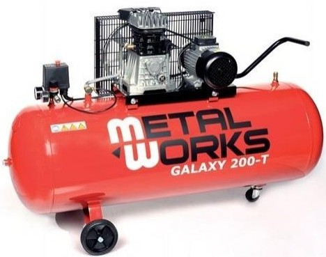 Compresor Metalworks Galaxy 200L 3CV/230V