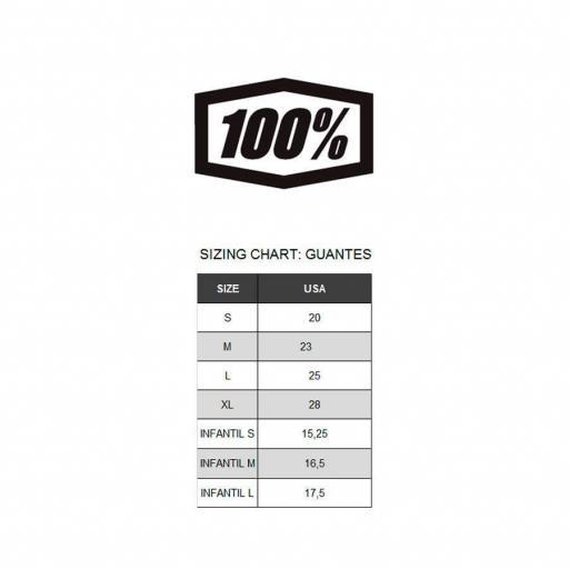 GUANTES 100% AIRMATIC  (ROJO/NEGRO) [1]