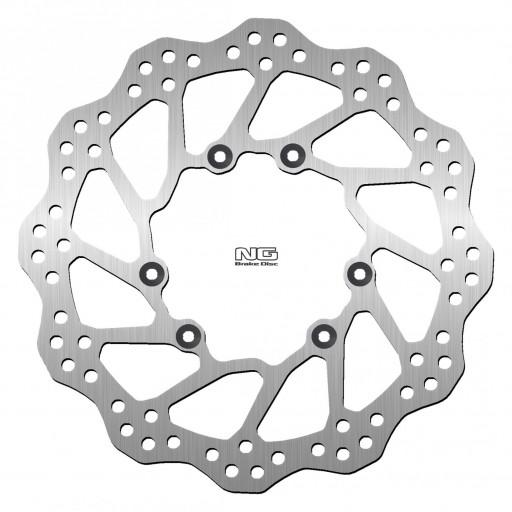 Disco de freno Delantero ondulado NG 1486X 260 x 101 x 3,0