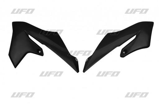 Placas laterales radiaror YZ65 Negra / Azul / Blanca [2]
