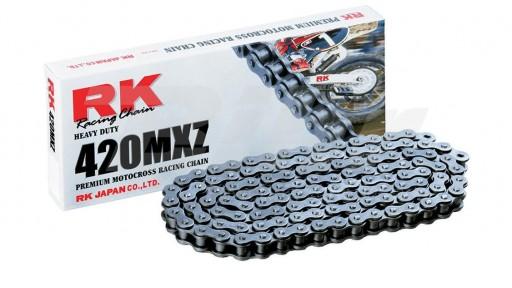 Cadena RK 420MXZ con 120 o 130 eslabones negro