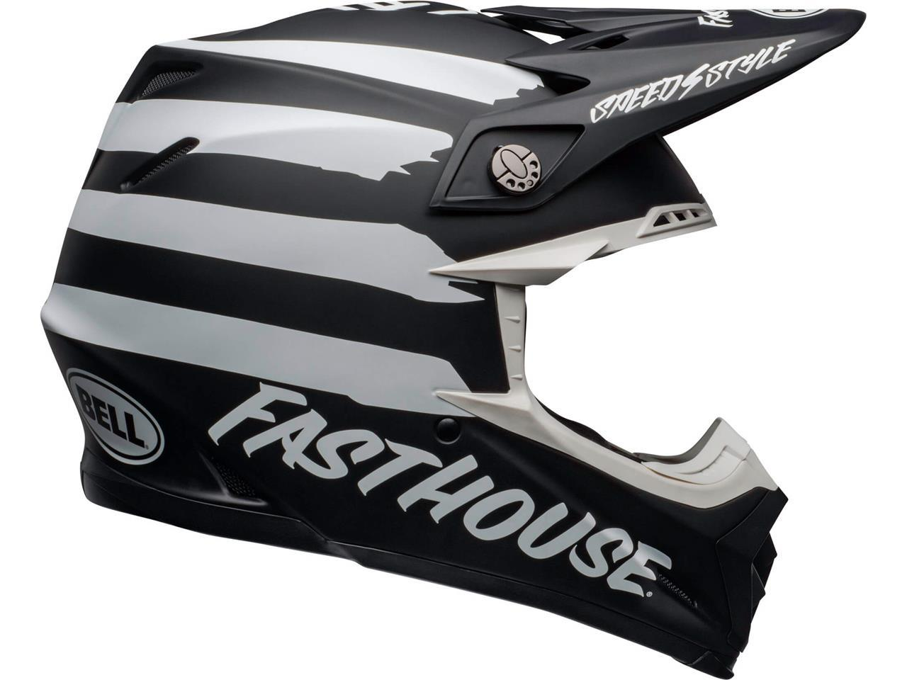 Bell MOTO-9 MIPS FASTHOUSE Signia Negro/Cromo