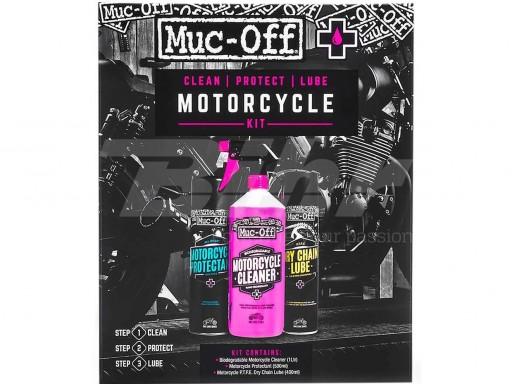 Kit completo limpieza, protección y lubricación Muc-Off