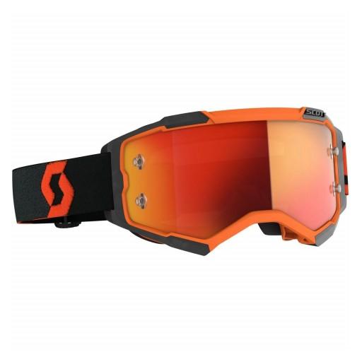 SCOTT FURY Color Orange/black