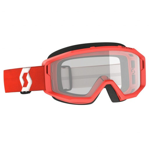 Scott PRIMAL Clear red '22