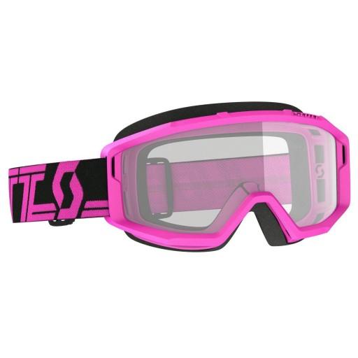 Scott PRIMAL Clear black/pink '22