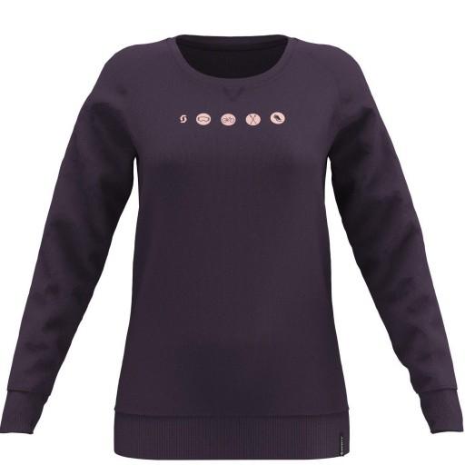 CAMISETA CREWNECK WS 10 CASUAL L/SL Color Dark Purple