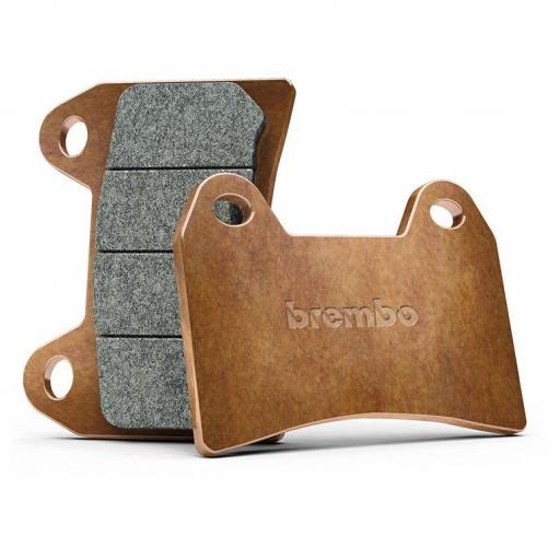 Pastillas de freno traseras sinterizadas Brembo Carbon Ceramic