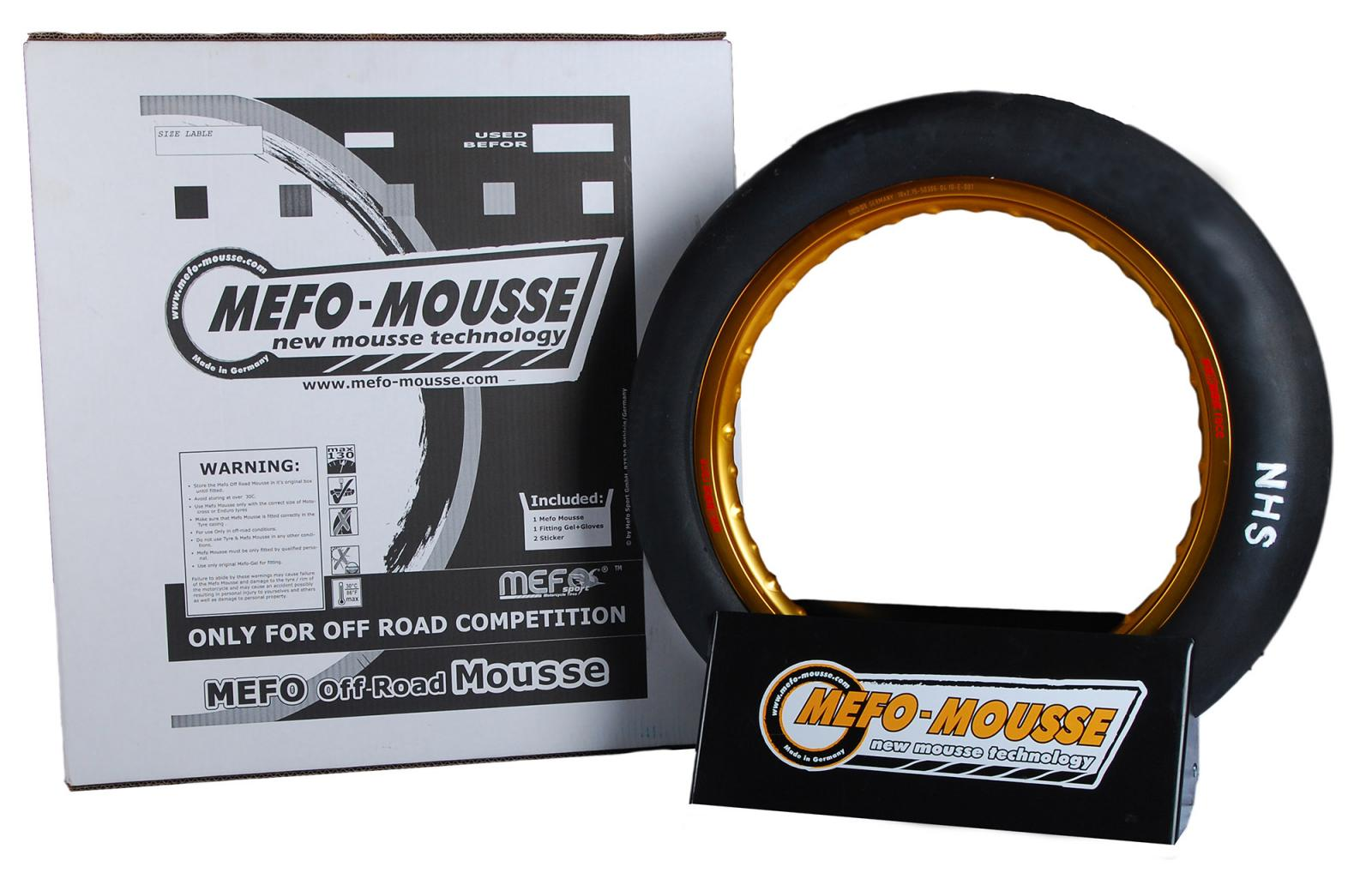 Mousse MEFO 21´´ 80/100-21 90/90-21 carcasa grande