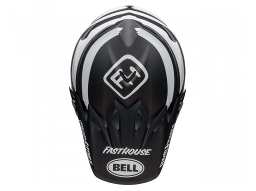 Bell MOTO-9 MIPS FASTHOUSE Signia Negro/Cromo [3]