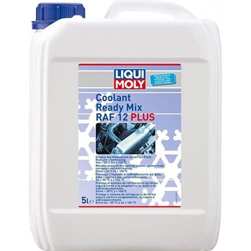 Refrigerante anticongelante Liqui Moly Coolant Ready Mix RAF 12+