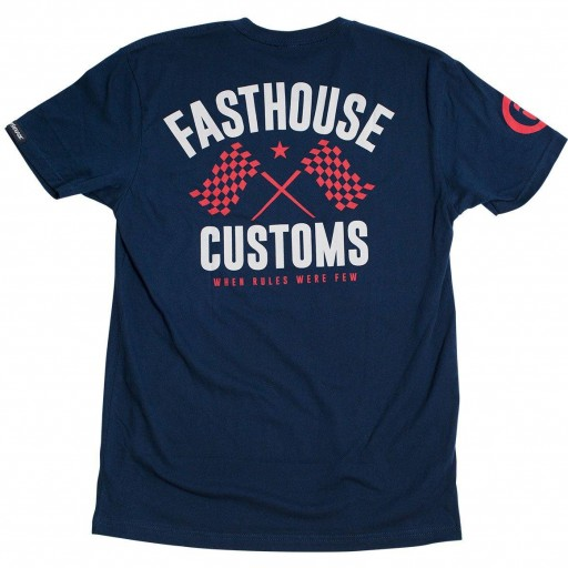 FASTHOUSE T-SHIRT 68 TRICK MIDNIGHT NAVY