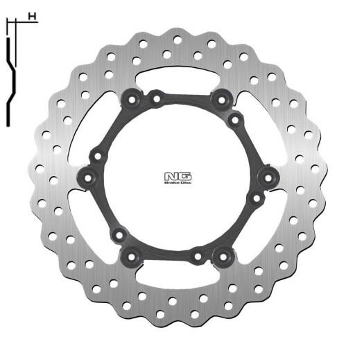 Disco de freno NG ondulado flotante 1725X  Ø260 - Delantero