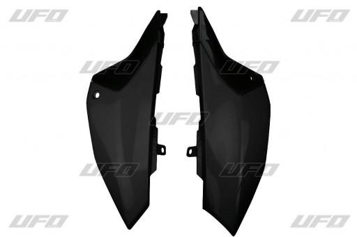 Placas laterales traseras YZ65 Negra / Azul / Blanca [2]