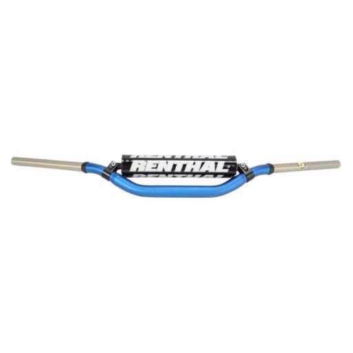 Manillar Renthal Twinwall KTM high azul con protector negro 994-01-BU-02-184
