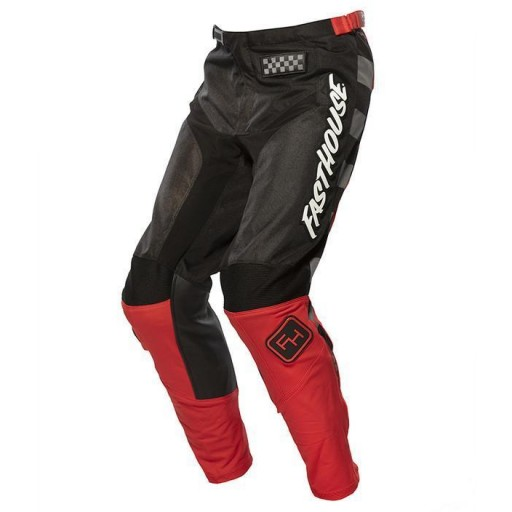 FASTHOUSE Pantalón Moto GRINDHOUSE 2.0 YOUTH PANTS BLACK/RED