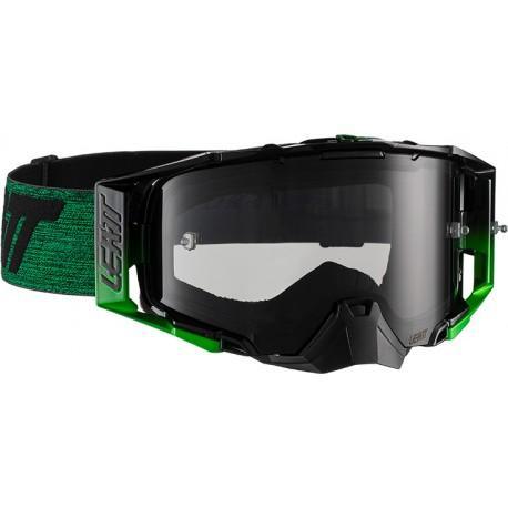 Leatt Velocity 6.5 Negro/Verde Ahumado 28%