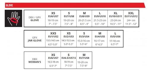 Guantes Moto 1.5 Mini/Jr Rojo [2]