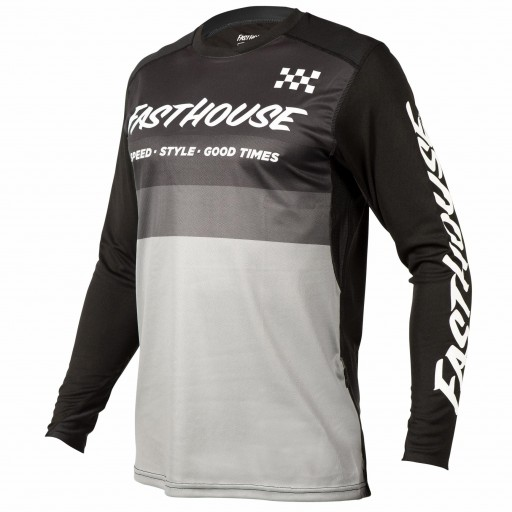 FASTHOUSE BIKE JERSEY ALLOY KILO BLACK/GREY