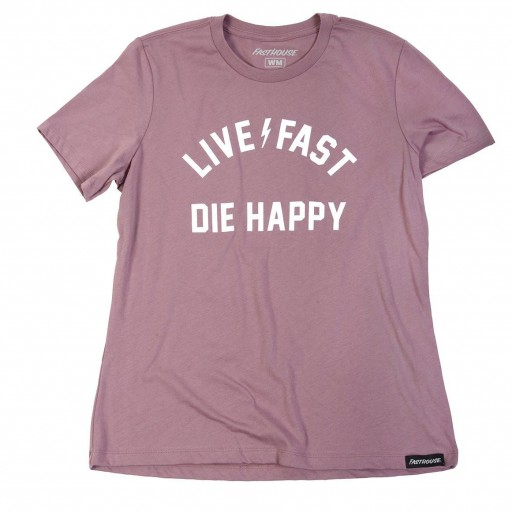 FASTHOUSE T-SHIRT WOMEN'S DIE HAPPY ORCHID