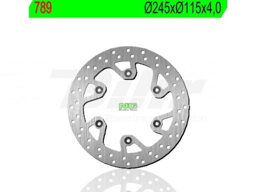Disco de freno NG TRASERO 789 Ø245 x Ø115 x 4