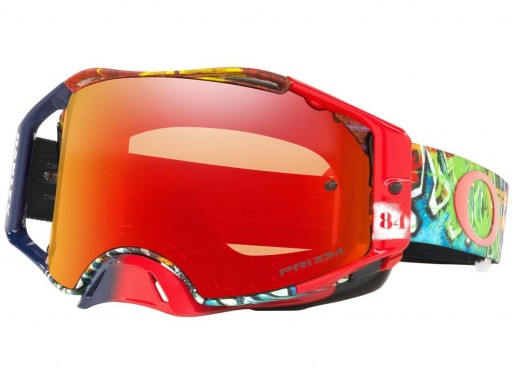 OAKLEY AIRBRAKE Jeffrey Herlings Signature, Lente PRIZM Torch