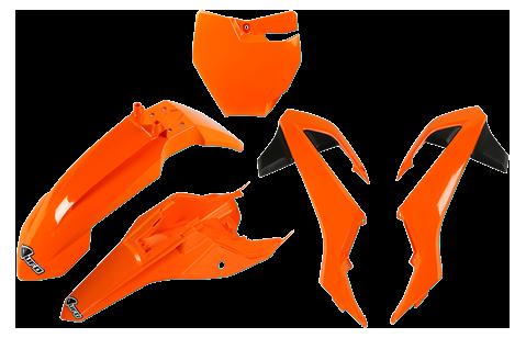 Plásticos UFO (Color Negro, Naranja o Blanco) [1]