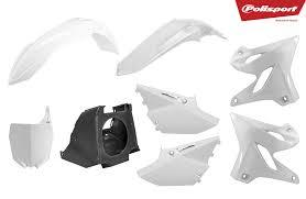 Kit plástica Polisport Yamaha restyling blanco 2002-2020