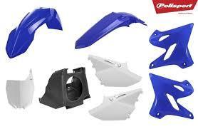 Kit plástica Polisport Yamaha restyling color original 2002-2020