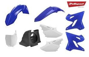 Kit plástica Polisport Yamaha restyling color original 2002-2020