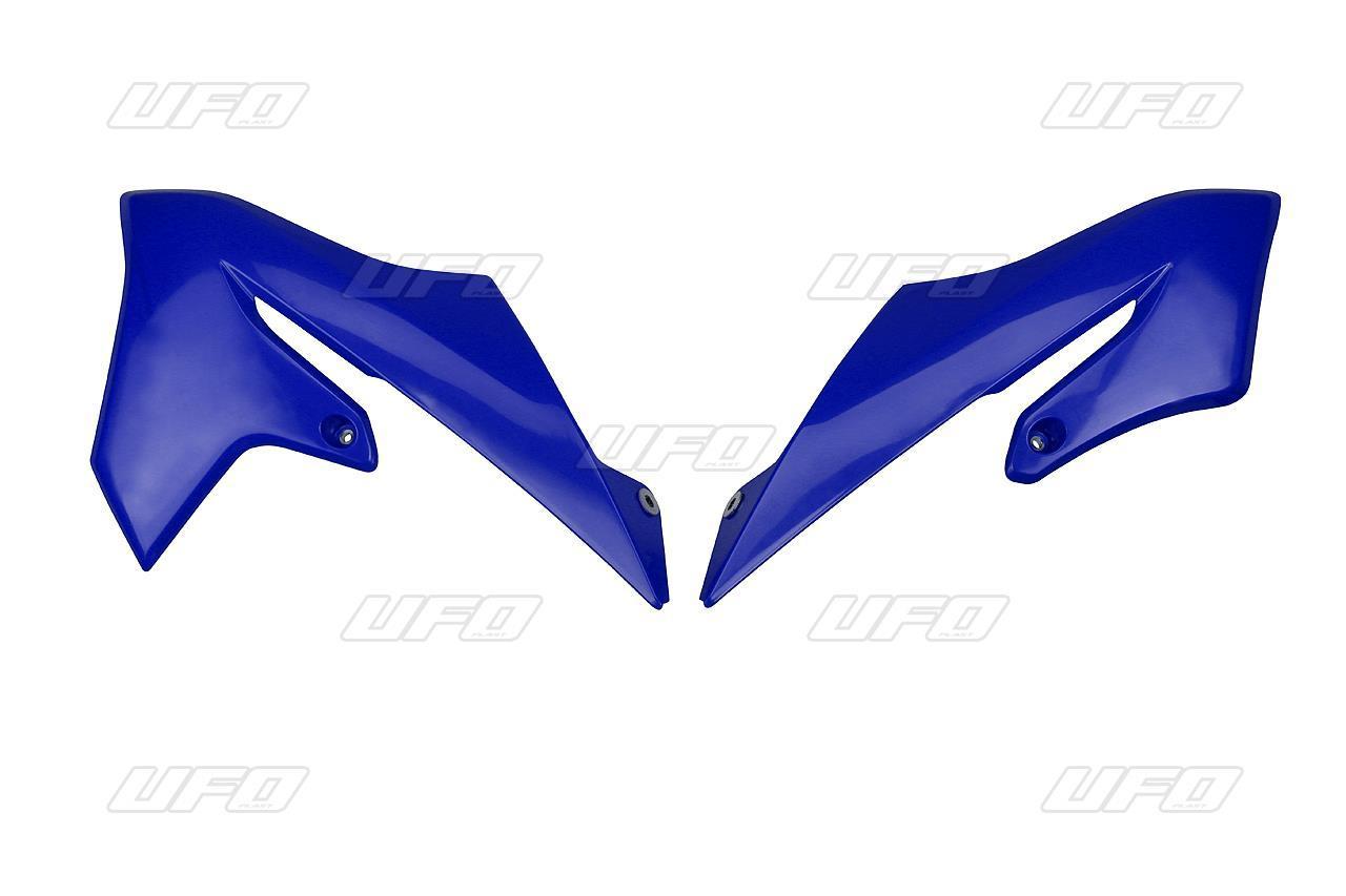 Placas laterales radiaror YZ65 Negra / Azul / Blanca
