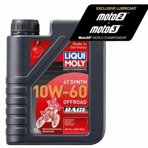 Liqui Moly 100% sintético 4T Synth 10W-60 Off road Race
